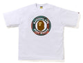 A BATHING APE BAPE CHECK BUSY WORKS RLX TEE