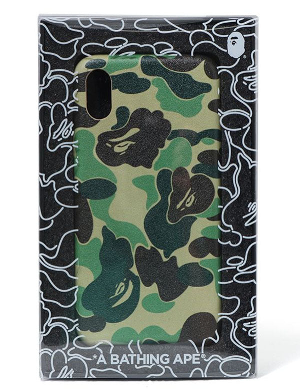 new products bb678 cedff A BATHING APE ABC CAMO iPhone CASE for iPhone 8, iPhone 8 Plus, iPhone X