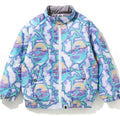 A BATHING APE BAPE KIDS BAPE LIGHTNING DOWN JACKET