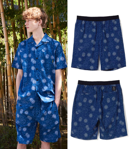A BATHING APE MR. BATHING MR PATTERN SHORTS - happyjagabee store