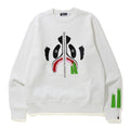 A BATHING APE PANDA WIDE CREWNECK - happyjagabee store