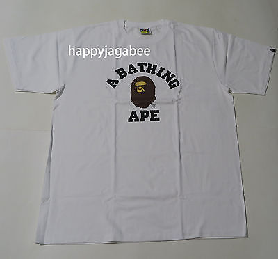 A BATHING APE Men's COLLEGE TEE - happyjagabee store