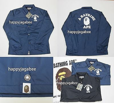 A BATHING APE COLLEGE COARCH BASIC JACKET - happyjagabee store