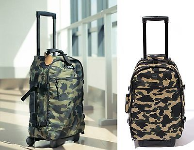 A BATHING APE BAPE TRAVEL COLLECTION LUGGAGE BAG - happyjagabee store