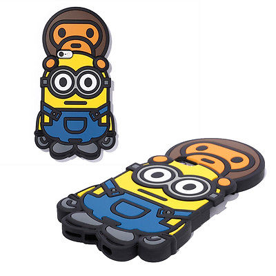 Sale! A BATHING APE  BABY MILO X MINIONS CANDIES MINIONS iPhone Case - happyjagabee store