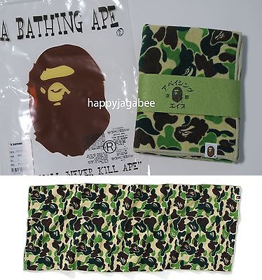 A BATHING APE ABC CAMO SPORTS TOWEL - happyjagabee store