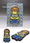 A BATHING APE  BABY MILO X MINIONS CANDIES MINIONS iPhone Case - happyjagabee store