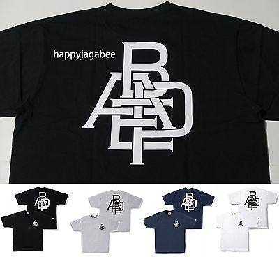 A BATHING APE Men's BAPE LOGO TEE - happyjagabee store