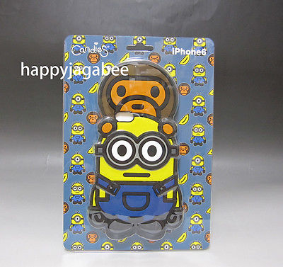 de860985 A BATHING APE BABY MILO X MINIONS CANDIES MINIONS iPhone Case –  happyjagabee store