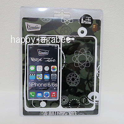 A BATHING APE x FUTURA GIZMOBIES For iPhone 6 / 6S Case - happyjagabee store