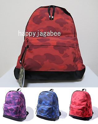 Sale! A BATHING APE COLOR CAMO DAY PACK - happyjagabee store