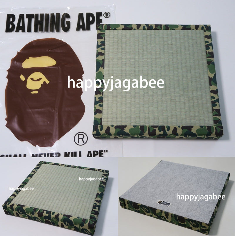 A BATHING APE ABC CAMO TATAMI CUSHION Exclusive Limited - happyjagabee store