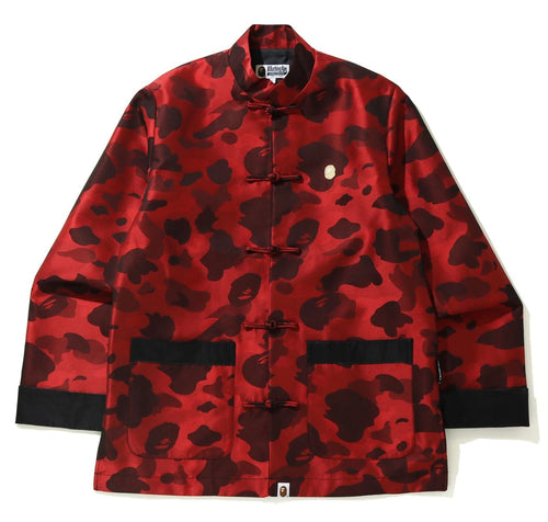 A BATHING APE COLOR CAMO CHINA JACKET