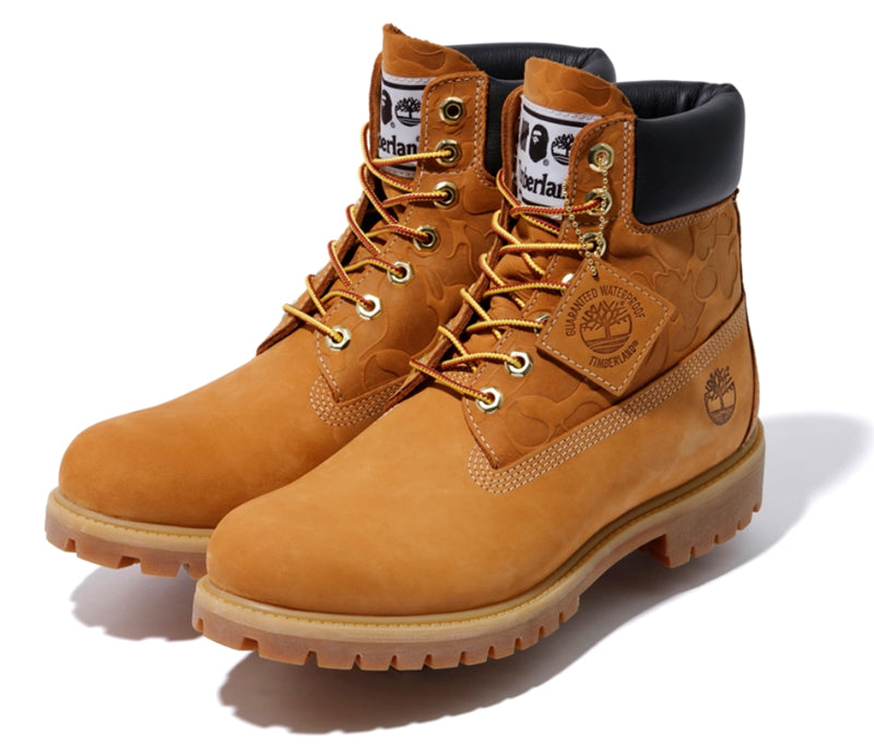 A BATHING APE x UNDEFEATED x Timberland BOOTS