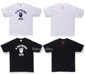 A BATHING APE BE@R COLLEGE TEE BEARBRICK - happyjagabee store