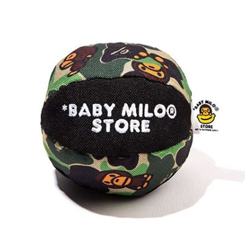 A BATHING APE BABY MILO STORE ABC MILO PET TOY BALL