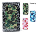 A BATHING APE ABC CAMO iPhone CASE for iPhone 8, iPhone 8 Plus, iPhone X - happyjagabee store