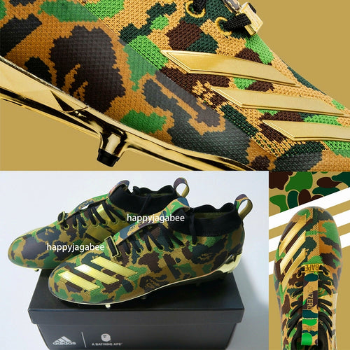 A BATHING APE x adidas FOOTBALL ABC ADIZERO 5-STAR 7.0 LOW M3 - happyjagabee store