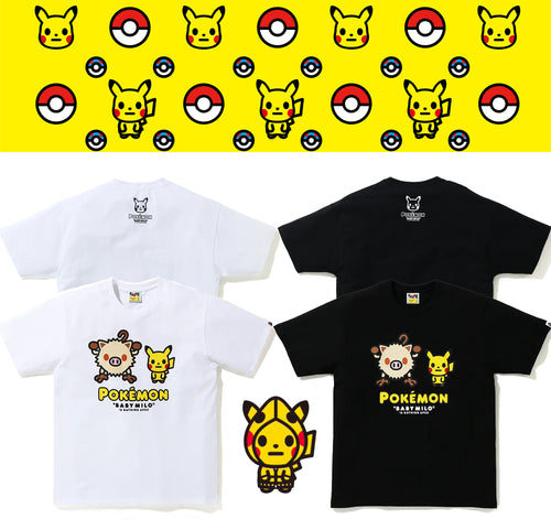 A BATHING APE Pokemon COLLECTION POKEMON TEE #2