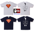 A BATHING APE BAPE × DC MADISON AVENUE SUPERMAN TEE