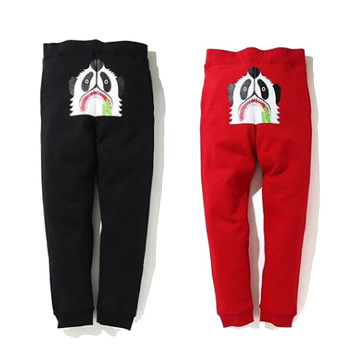 A BATHING APE PANDA SLIM SWEAT PANTS