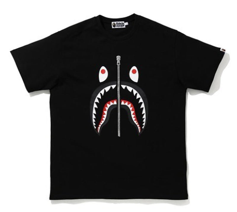 A BATHING APE SHARK HEAVY WEIGHT RELAXED TEE
