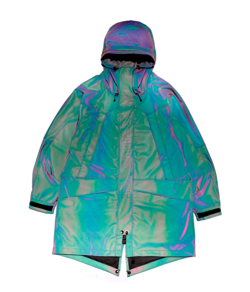 A BATHING APE REFLECTOR M-51 SNOWBOARD JACKET - happyjagabee store