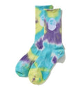 A BATHING APE APE HEAD TIE DYE SOCKS - happyjagabee store