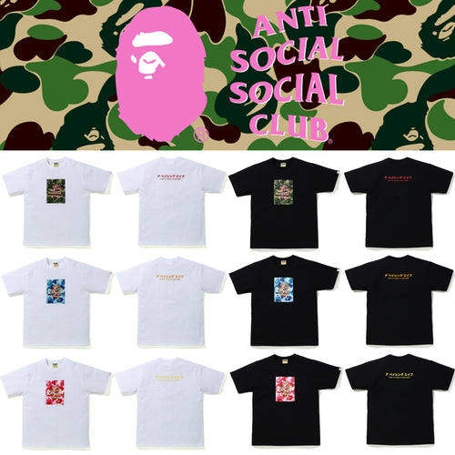 A BATHING APE BAPE x ASSC ABC CAMO BOX TEE ANTI SOCIAL SOCIAL CLUB