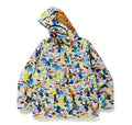 A BATHING APE MULTI CAMO SHARK SNOWBOARD JACKET