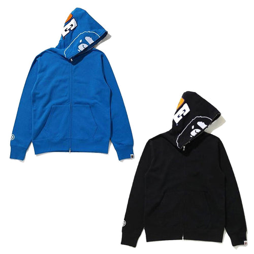A BATHING APE 2ND APE FULL ZIP HOODIE