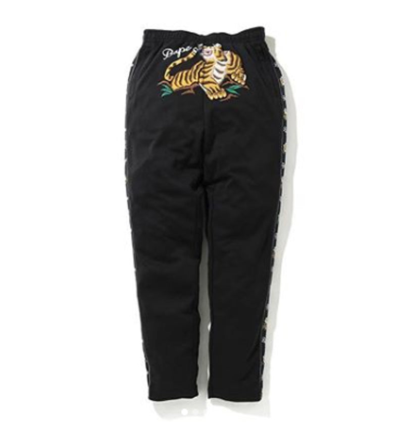 A BATHING APE TIGER JERSEY PANTS - happyjagabee store