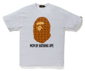 A BATHING APE MCM x BAPE BY BATHING TEE Brown - happyjagabee store