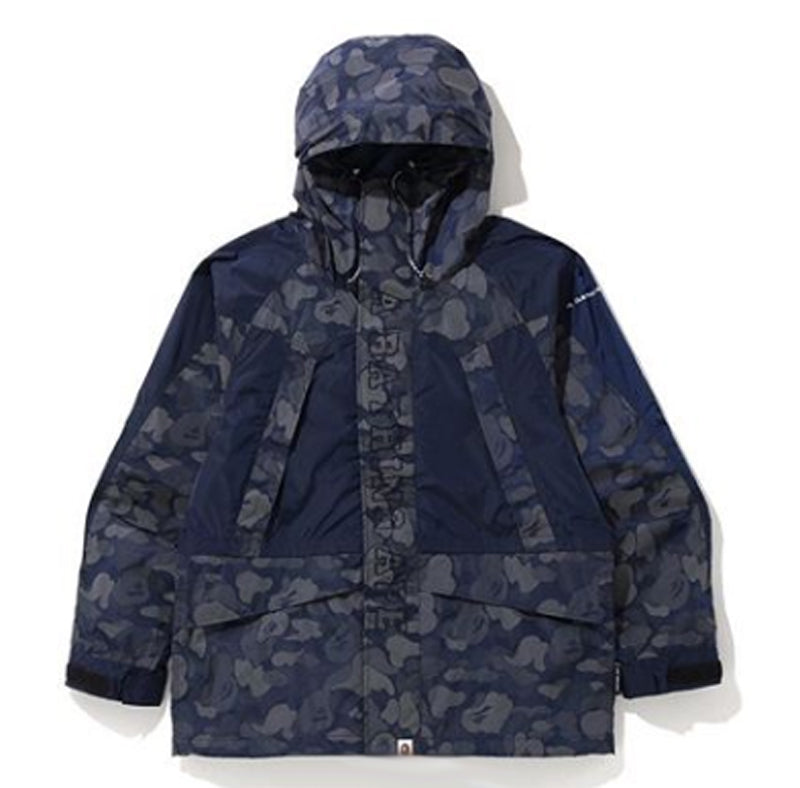 A BATHING APE ABC DOT REFLECTIVE SNOWBOARD JACKET