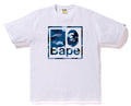 A BATHING APE GRADATION CAMO BAPE QUADRANGLE TEE - happyjagabee store