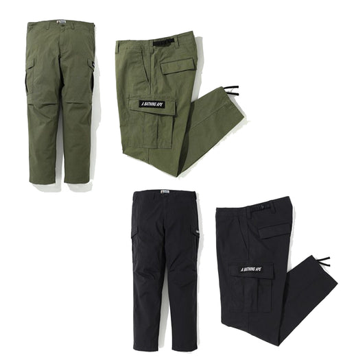 A BATHING APE 6POCKET PANTS
