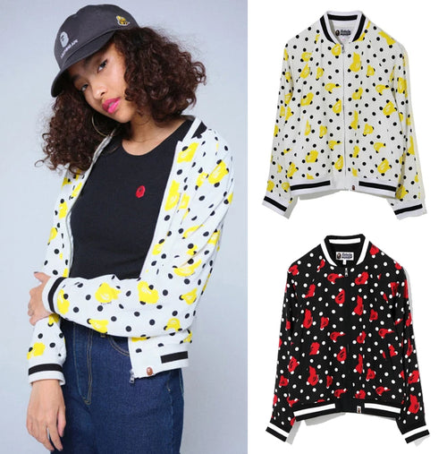 A BATHING APE Ladies' BAPE DOT JACKET
