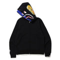 A BATHING APE SHARK FULL ZIP DOUBLE HOODIE - happyjagabee store