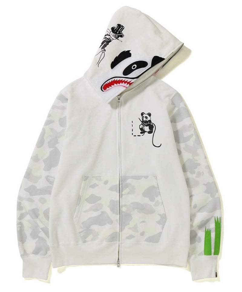 c4265c7bf8f6 A BATHING APE CITY CAMO PANDA FULL ZIP HOODIE – happyjagabee store