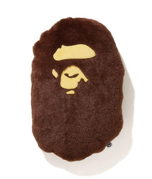 A BATHING APE APE HEAD CUSHION