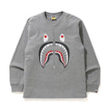 A BATHING APE SHARK L/S TEE