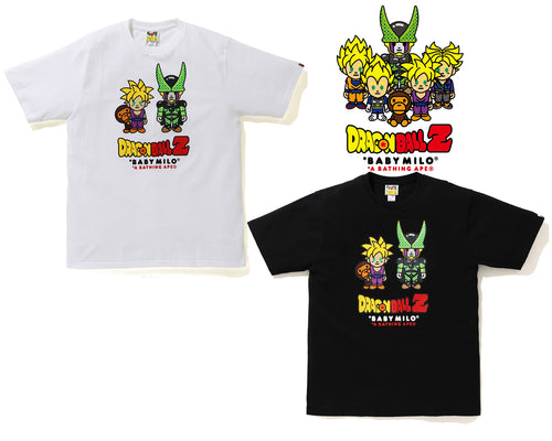 BAPE x DRAGON BALL Z BABY MILO SON GOHAN & CELL TEE