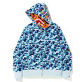A BATHING APE ABC CAMO TIGER FULL ZIP HOODIE - happyjagabee store