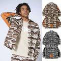 A BATHING APE DESERT CAMO LOOSE FIT TRUCKER JACKET