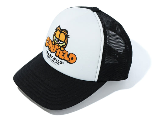 A BATHING APE BAPE x GARFIELD MESH CAP