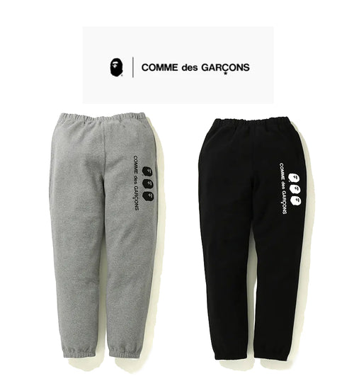 A BATHING APE × COMME des GARCONS CDG OSAKA x BAPE SWEAT PANTS
