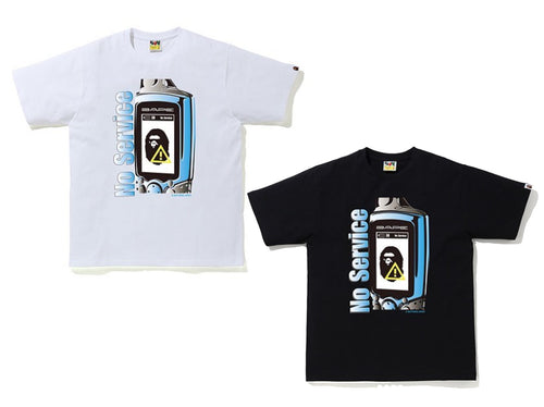 A BATHING APE APE RADIO WAVE TEE