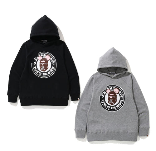 A BATHING APE YEAR OF THE MOUSE PULLOVER HOODIE