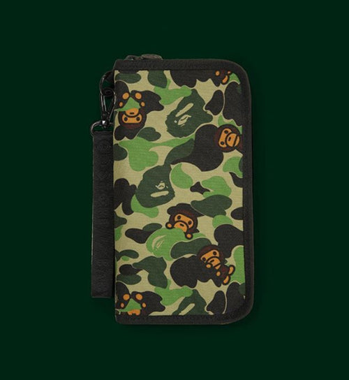 A BATHING APE BABY MILO STORE ABC MILO PASSPORT HOLDER - happyjagabee store