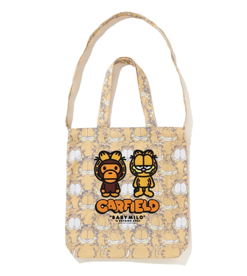 A BATHING APE BAPE x GARFIELD TOTE BAG